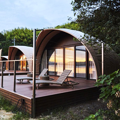 luxury tent for glamping - eco tent supplier - glamping tent for sales